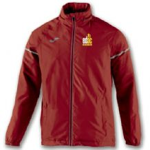 East Down Athletics Club Race Rainjacket Red - Adults 2018